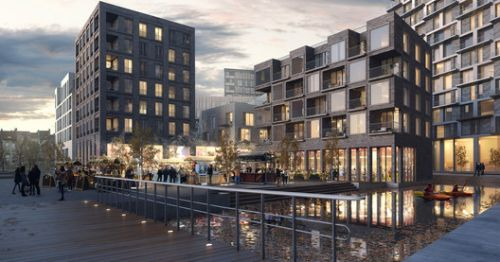 Henning Larsen Brings Canals and Rooftop Farming to Brussels in Competition-Winning Masterplan