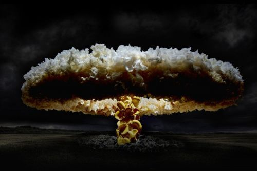Photos of Mushroom Clouds Made of Mushrooms