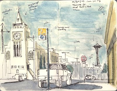 Urban sketches at Flickr