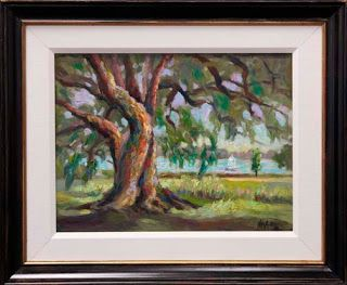 "New ""The Old Oak Tree"" Oil Painting by Dallas Artist Niki Gulley"