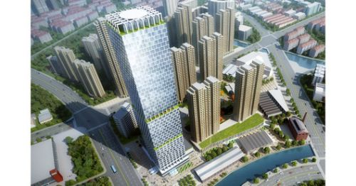 "John Portman & Associates Wins Design Competition for ""Super Tall"" Tower in Wuxi, China"