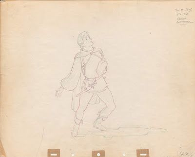 Rare Milt Kahl Drawings