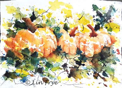 Journal - Splash and Splatter Pumpkins - Lin Frye, North Carolina
