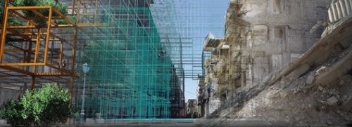 Reparametrize Studio and Digital Architects Re-Code Post War Syria