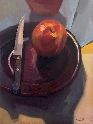 """""""Knife and Nectarine,"""" And, of course, the Eclipse!"""