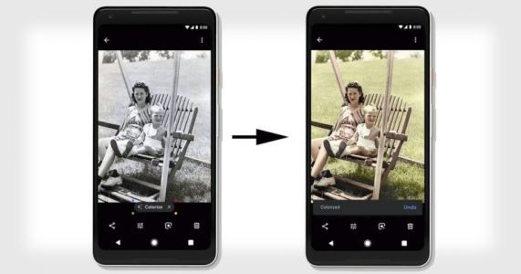 Google Photos to Use AI to Colorize Black-and-White Photos