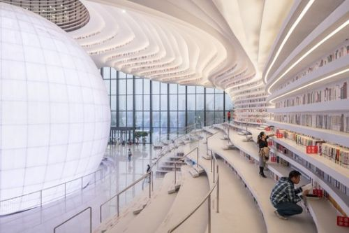 Beyond the Viral Images: Inside MVRDV's Tianjin Binhai Library with donotsettle