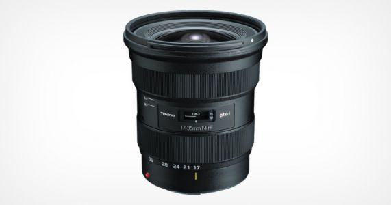 Tokina Unveils 17-35mm f/4 for Nikon F and Canon EF