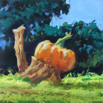 """""""THE GREAT PUMPKIN"""" by TOM BROWN"""