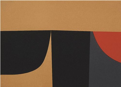 Alberto Burri. Born on this day in 1915