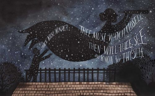 Celestial Illustrations by Diana Sudyka Fill a New Book Celebrating 19th Century Astronomer Maria Mitchell