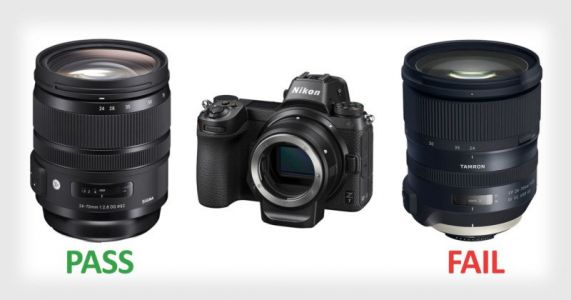Sigma Lenses Fully Compatible with Nikon Z, But Tamron Lenses Aren't