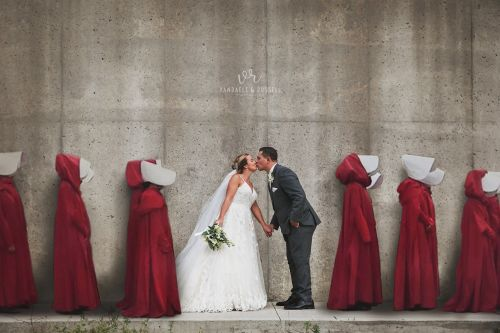 People Outraged Over Handmaid's Tale Wedding Photo, 'That's the Point' says Photographer