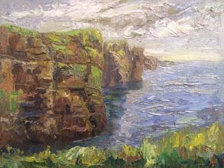 Day 4, Ireland Art Trek with Niki Gulley and Scott Williams