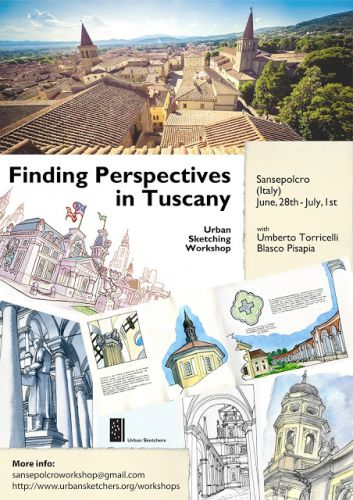 Finding Perspectives in Tuscany