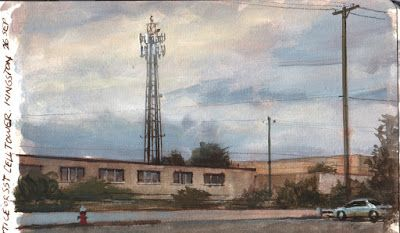 Paint-A-Cell-Tower Challenge