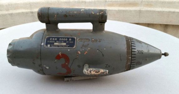 Rare WWII Zeiss German Fighter Plane Gun Camera: Yours for $7,000
