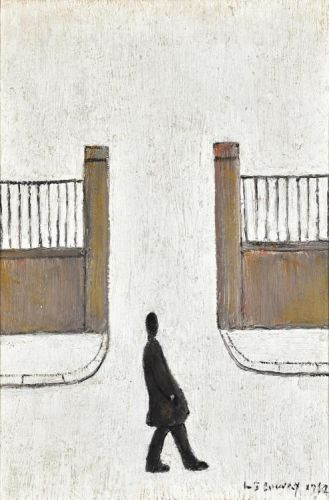 Man Looking at Something, L.S. Lowry