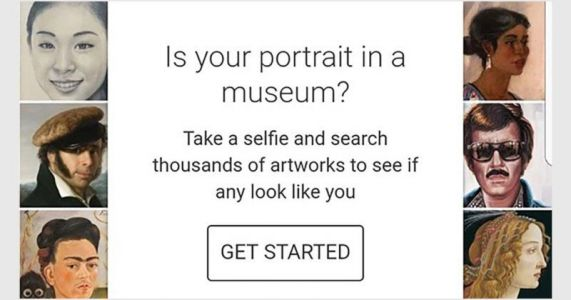 Google Can Use Your Selfie to Find Your Fine Art Doppelgänger