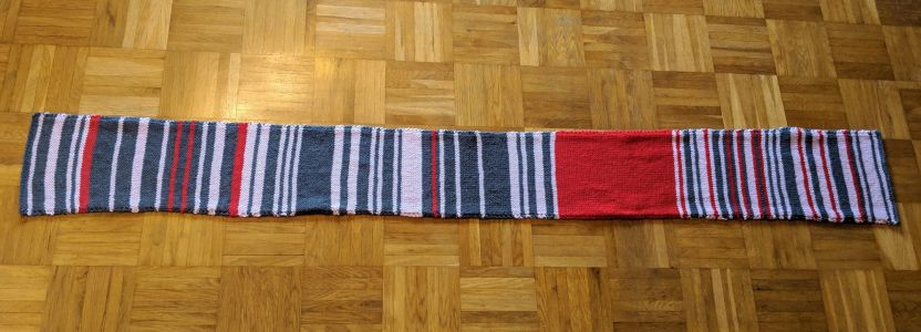 German Commuter Knits Four-Foot-Long Scarf Detailing Transit Delays