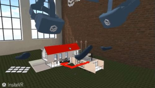 Collaborative Virtual Reality Allows Design Professionals to Meet Inside The Model