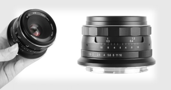 Meike Unveils Compact 25mm f/1.8 Lens for Nikon Z-Mount for Just $75