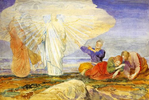 Gospel of Matthew - Transfiguration: The Cloud