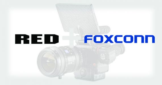 RED and Foxconn Team Up to Make 8K Cameras at 1/3 the Price