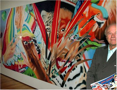 Born on this day in 1933. James Rosenquist, sign painter turned pop artist