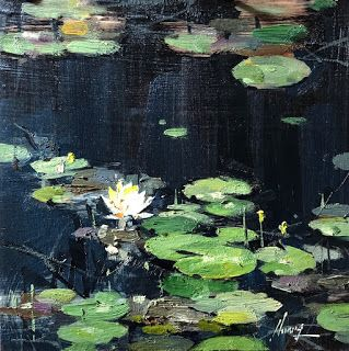 """Water Lily Study 121819"""