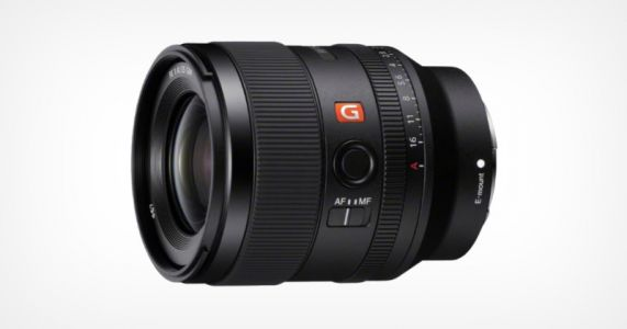 Sony Unveils the 35mm f/1.4 G-Master Lens