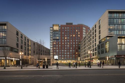 Rutgers University Sojourner Truth Apartments at The Yard / Elkus Manfredi Architects