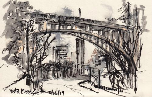 Vista Bridge sketchcrawl