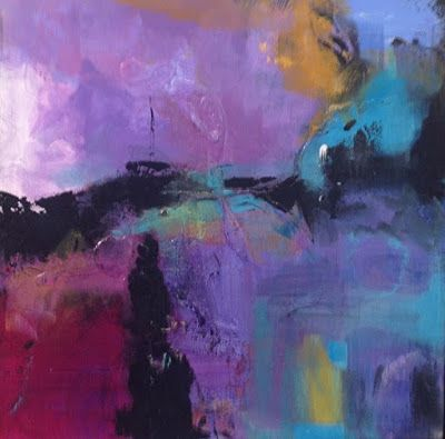 "Abstract Art, Expressionism, Contemporary Painting ""Image"" by Contemporary Artist Maggie Demarco"