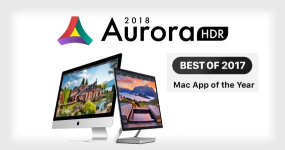 Apple Selects Aurora HDR 2018 as the Best Mac App of 2017