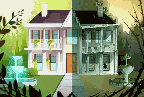 "Before & After - GIFs by Syd Weiler"" I'm an illustrator"