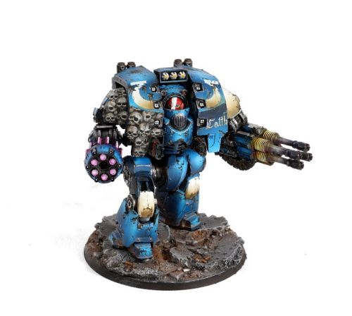 Showcase: Ultramarines Leviathan Dreadnought by Aurélie