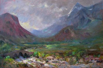 Sligachan: The Story Behind the Painting