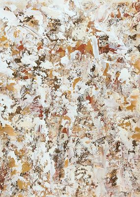 """Abstract Expressionist Palette Knife Art Painting """"Bladeworks 141"""" by International Abstract Artist Kimberly Conrad"""