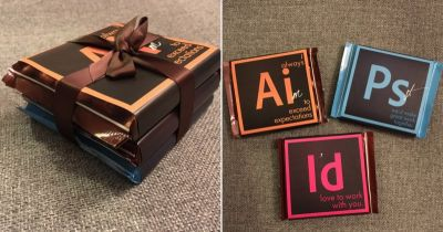 This Designer Created Adobe-Inspired Chocolates to Win Potential Clients