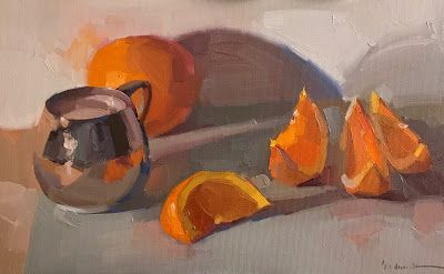 Orange Slices and Silver