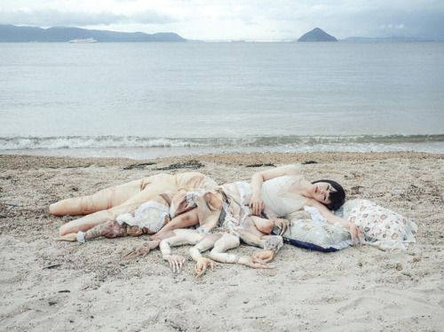 Look what the tide brought in, Mari Katayama
