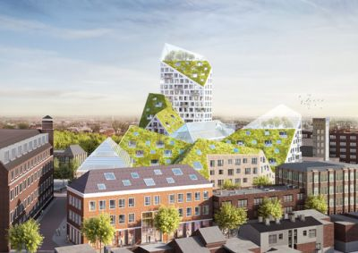 MVRDV and SDK Vastgoed Selected to Design Sustainable Housing Complex in Eindhoven