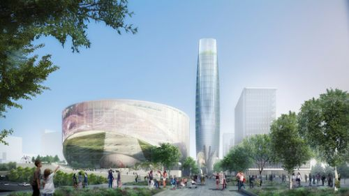SOM Selected to Design Green Masterplan for Eastern Paris