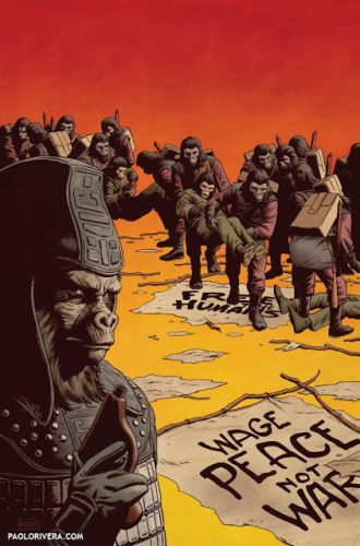 Planet of the Apes: Ursus 4 Cover