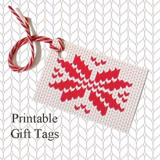 Knitting Gift Tags