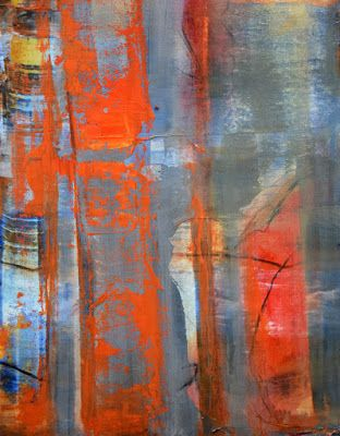 """Non Objective Painting, Contemporary Art """"In Plain Sight"""" by International Abstract Realism Artist Arrachme"""