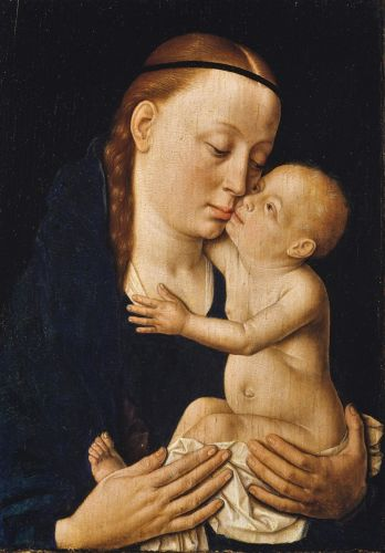 Madonnas attributed to Dieric the Elder Bouts 1415-1475