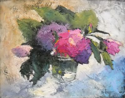 Studio Sale, Floral Painting, Daily Painting, Small Oil Painting