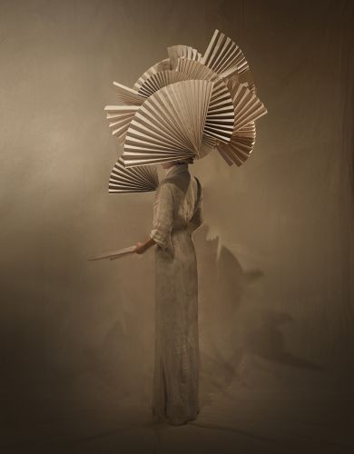 Ethereal Photographs Capture Mono Giraud's Sculptural Garments Formed with Organic Materials
